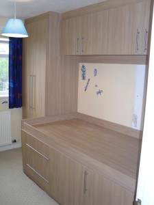 Cabin Bedroom Fitted Furniture final view