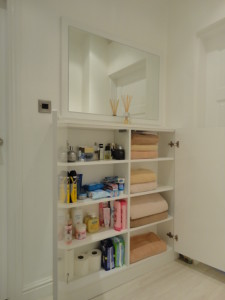 cabinetry shelves