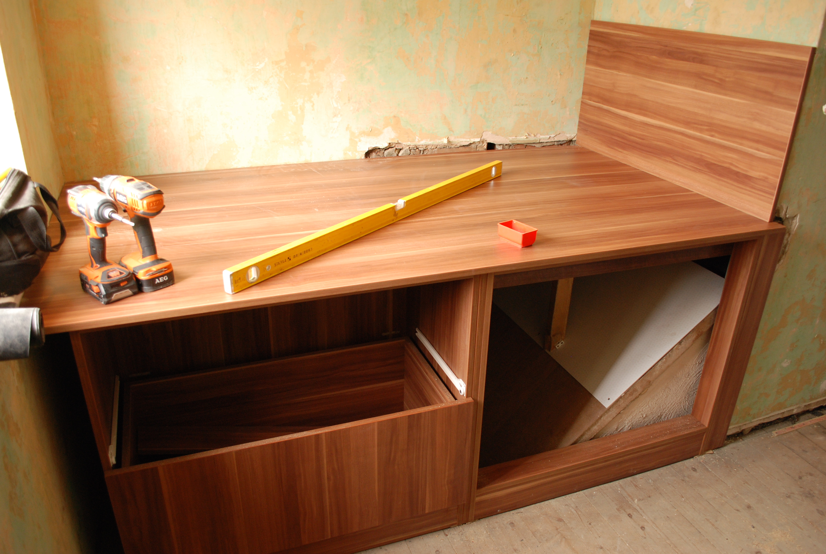 Photo 5 The Cabin Bed With Drawers Taking Shape