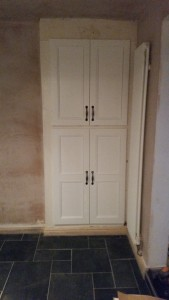 Replacing Old Dining Room Cupboard Doors