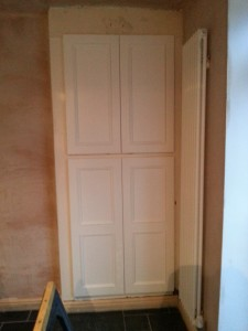 Replacement Doors On The Dining Room Cupboards