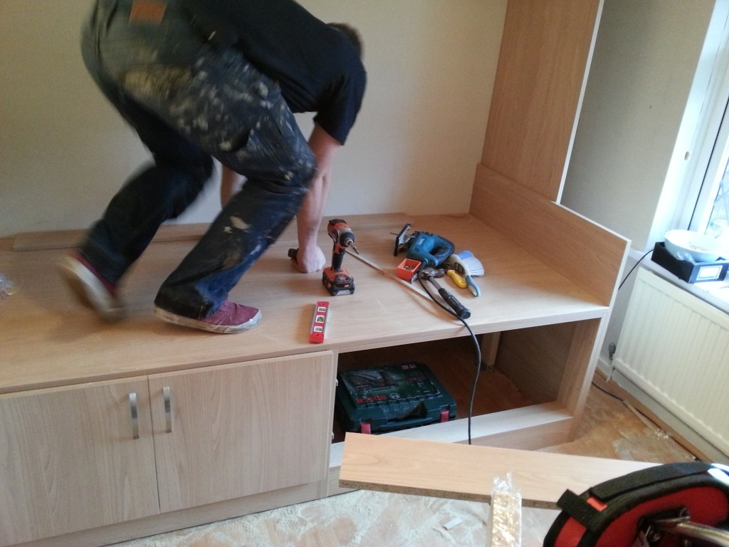 Lewis testing weight of cabin bed