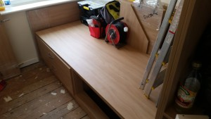 Cabin bed Nearly Finished