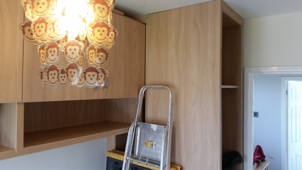 Fitted Wardrobe In The Corner