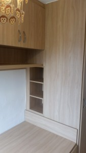 Cabin Bed With Wardrobe