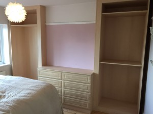 Drawers And Wardrobes Nearly Finished
