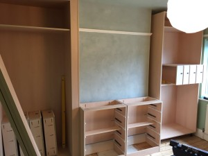 Wardobes In Alcoves With Drawers In Build