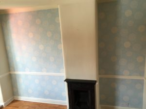 Alcoves And Chimney Breast Before Work Starts