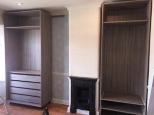 Building Up The Fitted Alcove Wardrobes