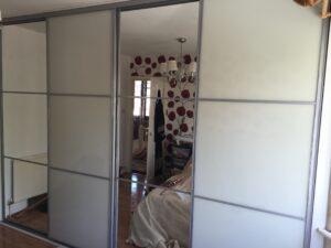 finishing off the 4 door sliding wardrobes
