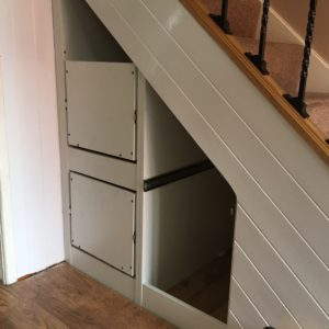 Under stairs drawer units for Under stairs drawers plans