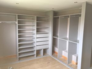 ready for Sliding Wardrobes With Matching Dressing Table And Bedside Drawers