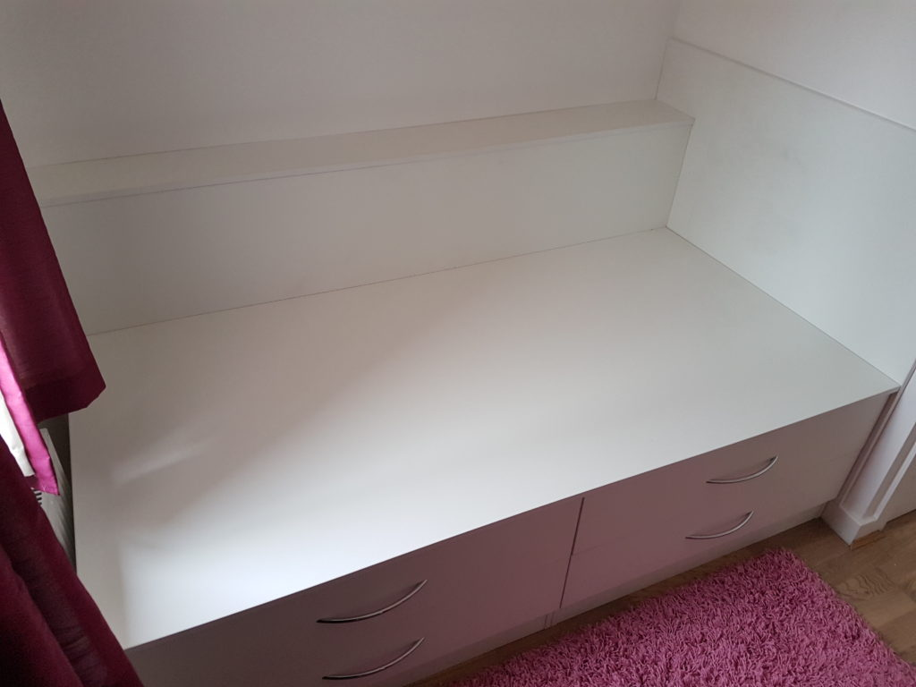 cabin bed built