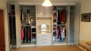 main built in wardrobes after completion