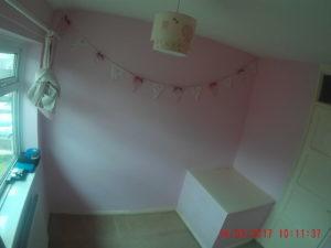 box room showing stairs bulkhead