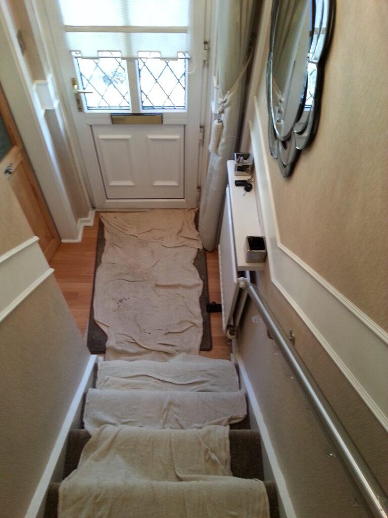 Bedroom Design Under Stairs