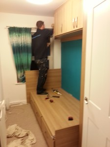 Made To Measure Cabin Bed And Top Box Storage Units