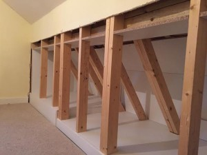 Extra Storage Space Under The Eaves