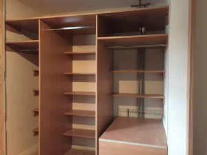 2 Door Sliding Wardrobe Over The Stairs Bulkhead