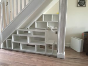 Tv Unit With Under Stairs Storage Units