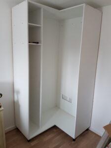 Corner Wardrobe And Single Wardrobe With Internal Drawers